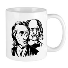 Locke and Hobbes - Double Cross Mug!