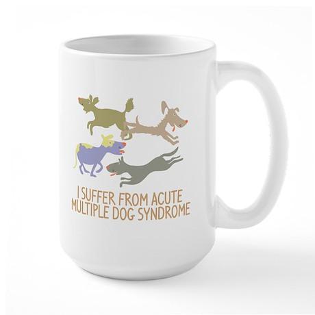 Acute Multiple Dog Syndrome Large Mug