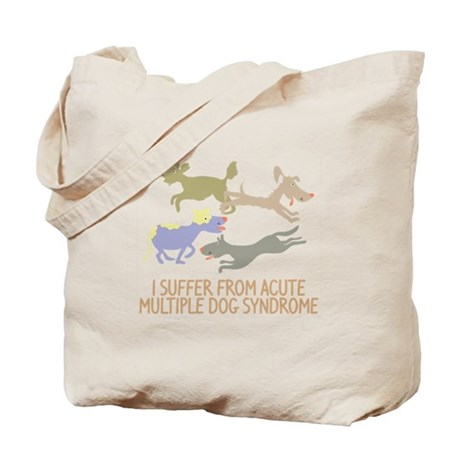 Acute Multiple Dog Syndrome Tote Bag