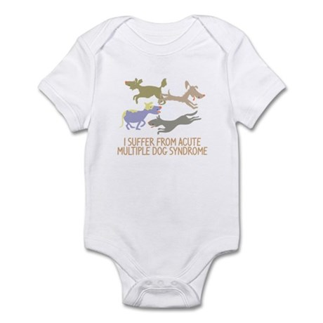 Acute Multiple Dog Syndrome Infant Bodysuit