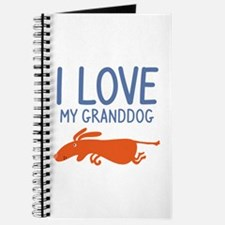 I Love My Granddog Journal