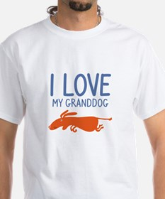 I Love My Granddog Shirt