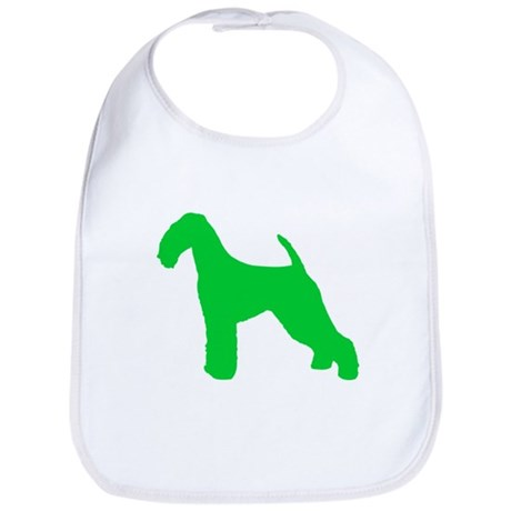 Airedale Terrier St. Patty's Day Bib