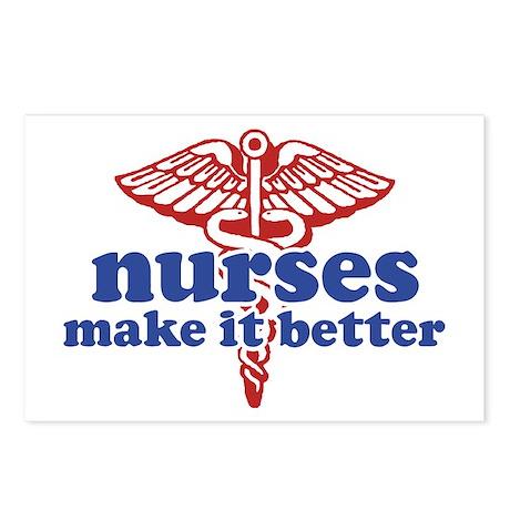 Nurses Make It Better Postcards (Package of 8)