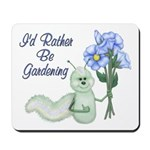 Gardening Caterpillar Mousepad