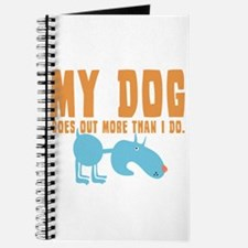 My Dog Goes Out More Journal