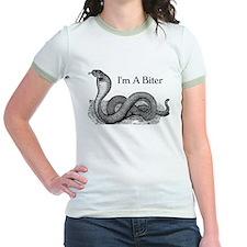 I'm a biter cobra snake Jr. Ringer T-shirt
