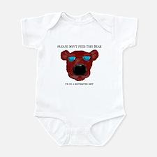 Don't Feed This Bear #2 Infant Bodysuit
