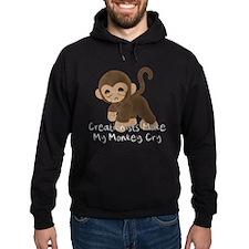 Crying Monkey Hoody