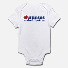 Nurses Make It Better Infant Bodysuit
