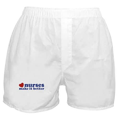 Nurses Make It Better Boxer Shorts