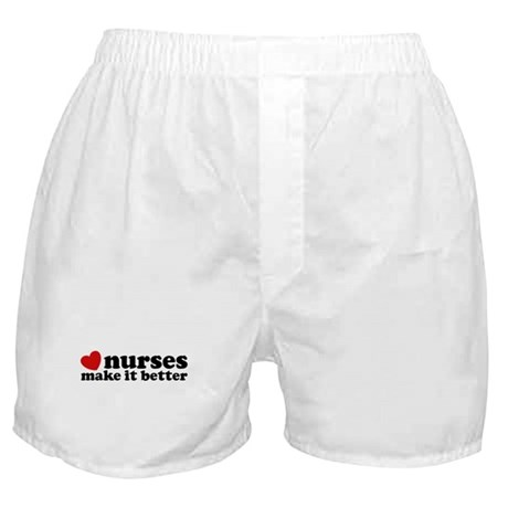 Nurses Make It Better Boxer Shorts