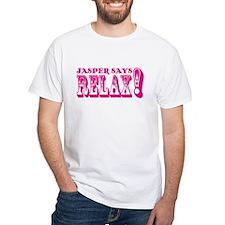 Jasper Says Relax (rustic) pink Shirt