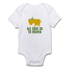All Dogs Go To Heaven Infant Bodysuit