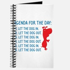 Agenda For The Day Journal