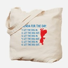 Agenda For The Day Tote Bag