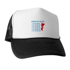 Agenda For The Day Trucker Hat