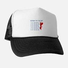 Agenda For The Day Trucker Hat