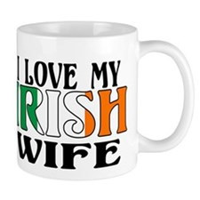 I Love My Irish Wife Mug