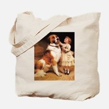 Trust by Charles Burton Barber Tote Bag