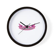 Hockey Princess Wall Clock