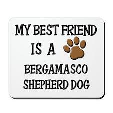 My best friend is a BERGAMASCO SHEPHERD DOG Mousep