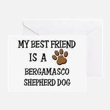 My best friend is a BERGAMASCO SHEPHERD DOG Greeti