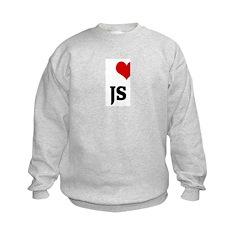 I Love JS Sweatshirt