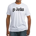 go Jordan Fitted T-Shirt