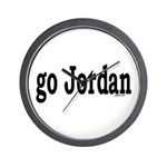 go Jordan Wall Clock