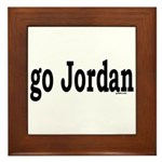 go Jordan Framed Tile