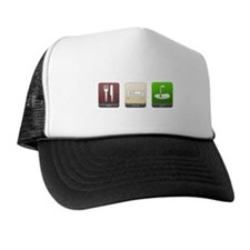 Eat, Sleep, Golf Trucker Hat