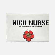 Cute Nicu nurses Rectangle Magnet