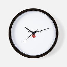 Cute Neonatal nurse Wall Clock