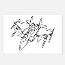 Trombone Jet Light Postcards (Package of 8)