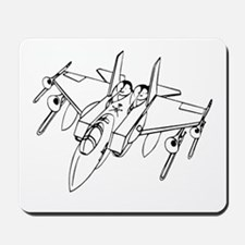 Trombone Jet Light Mousepad