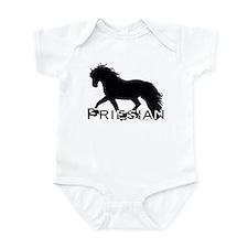 Friesian Horse Infant Bodysuit