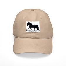 Friesian Horse Baseball Cap
