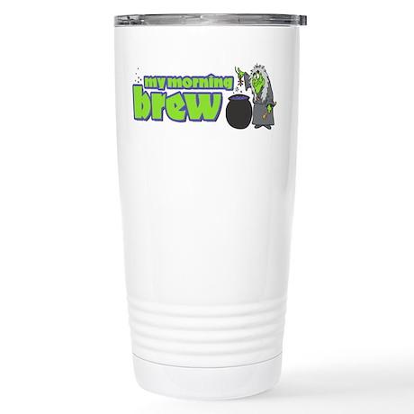 Morning Brew Stainless Steel Travel Mug