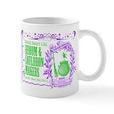 Broom & Cauldron Mug