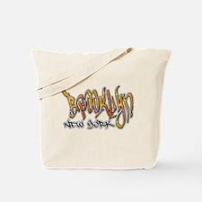 Brooklyn Graffiti Tote Bag