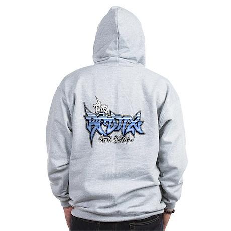 Bronx Graffiti Zip Hoodie