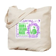 Broom & Cauldron Tote Bag