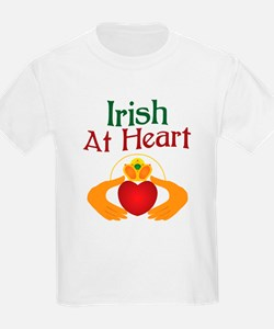Irish At Heart T-Shirt