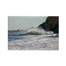 Rodeo Beach Coast Surf, Waves + Water Gift Magnet