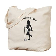 Domestic Diva Tote Bag