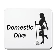 Domestic Diva Mousepad