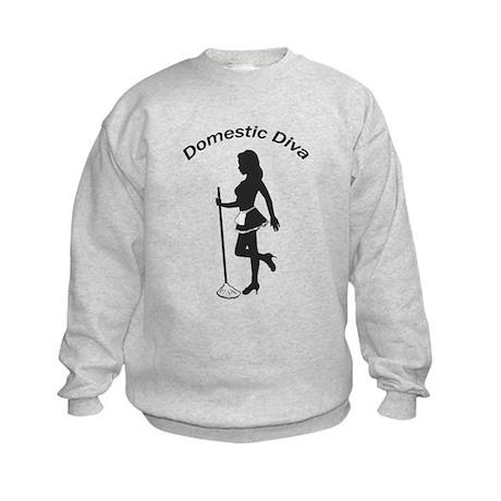 Domestic Diva Kids Sweatshirt