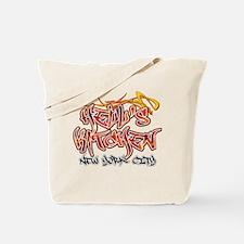 Hell's Kitchen Graffiti Tote Bag