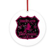 Conga Player Diva League Ornament (Round)